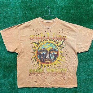 Sublime Distressed Rock Tshirt size O/S